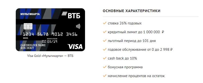 """Кредитная карта """"Мультикарта"""""""