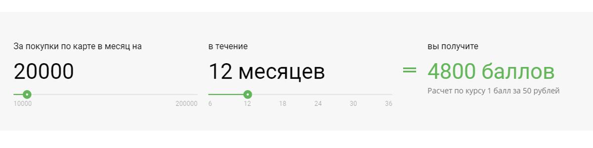 """Бонусная программа карты """"Прибыль"""""""