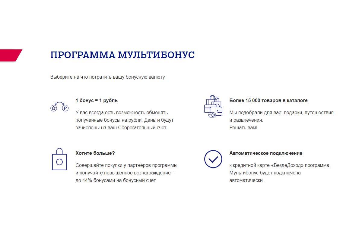 Программа Мультибонус